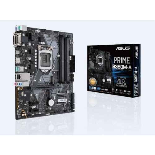 Asus MB  Prime B360M-A / 1151 8th comp / 4x DDR4/ HDMI/ M-ATX