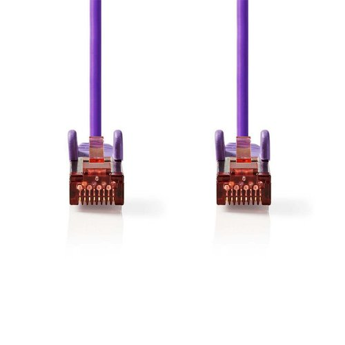 Nedis CAT6 S/FTP-netwerkkabel/RJ45 2m Paars