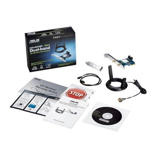Asus ASUS PCE-AC55BT B1 WLAN / Bluetooth 1167 Mbit/s Intern