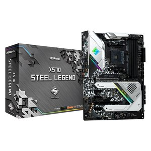 Asrock X570 Steel Legend Socket AM4 ATX AMD X570