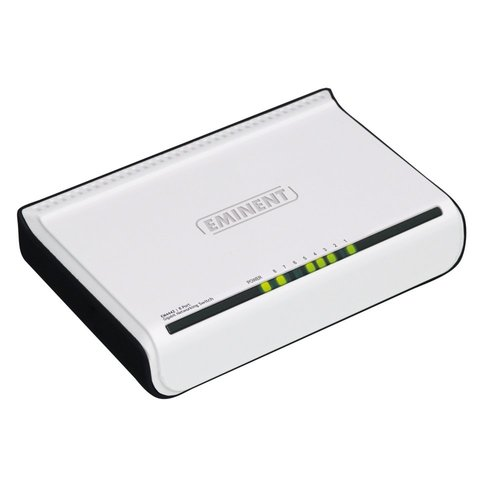 Eminent EM4442 netwerk-switch Gigabit Ethernet (10/100/1000) Zwart
