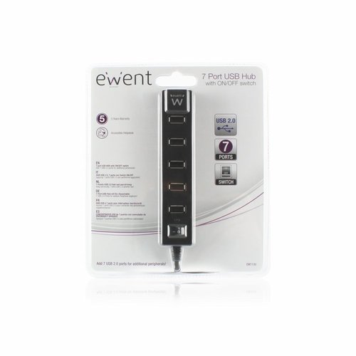 Ewent USB 2.0 Hub 7 port