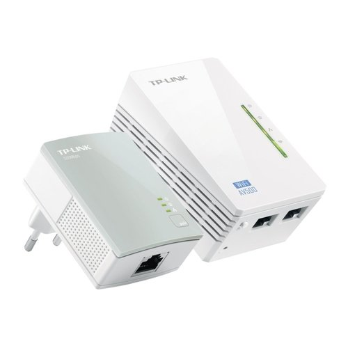 TP-Link WPA4220KIT AV500 WiFi Powerline Extender 300Mbps KIT
