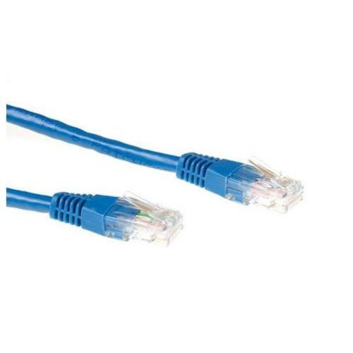 Ewent OEM CAT6 Networking Cable copper 0.5 Meter Blue