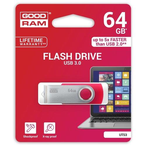 Goodram Storage  Flashdrive 'Twister' 64GB USB3.0 Black