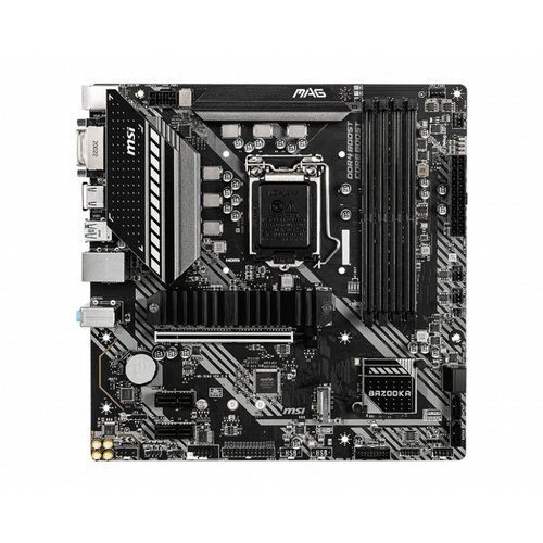 MSI MB  MAG B460M BAZOOKA LGA 1200 micro ATX Intel B460 (refurbished)