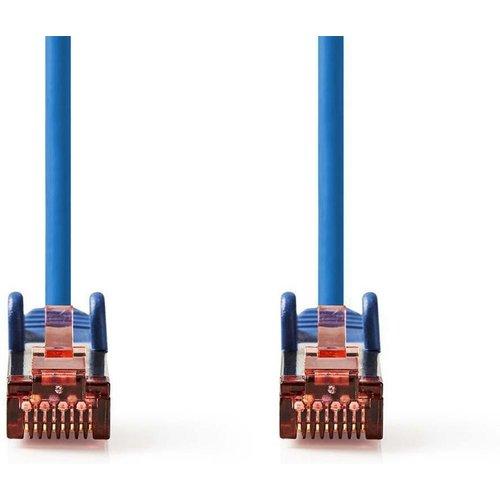 Nedis CAT6 S/FTP-netwerkkabel/RJ45 2m Blauw
