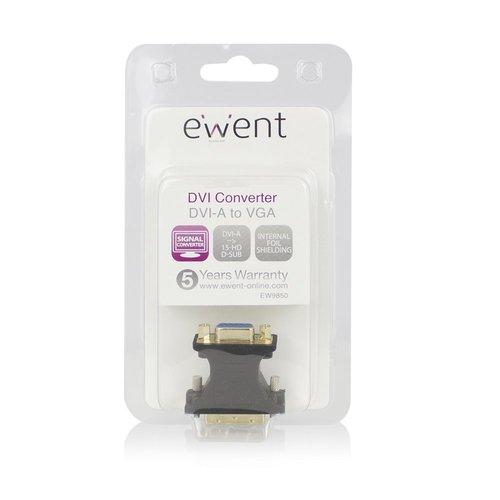 Ewent Adapter DVI-A male - VGA female