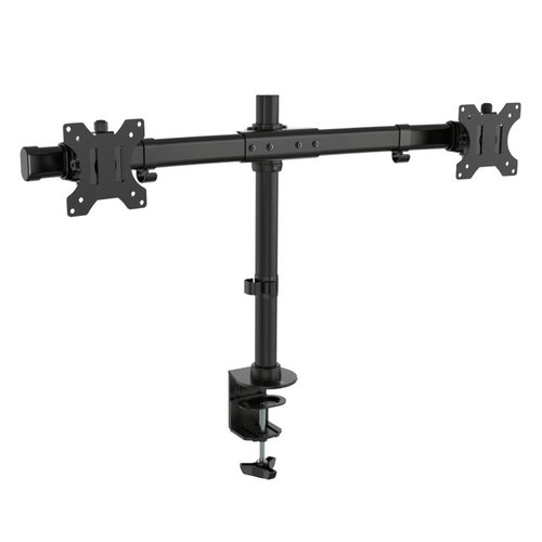 """Ewent EW1518 flat panel bureau steun 68,6 cm (27"""") Klem/doorvoer Zwart"""