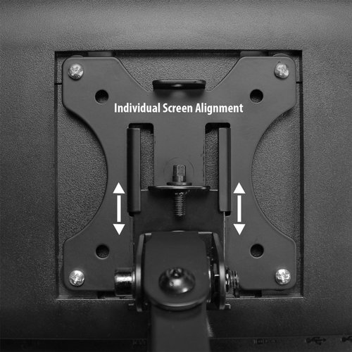 Ewent Monitor desk mount stand crossbar 2 LCD