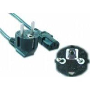 OEM Gembird PC-186-VDE electriciteitssnoer Zwart 1,8 m