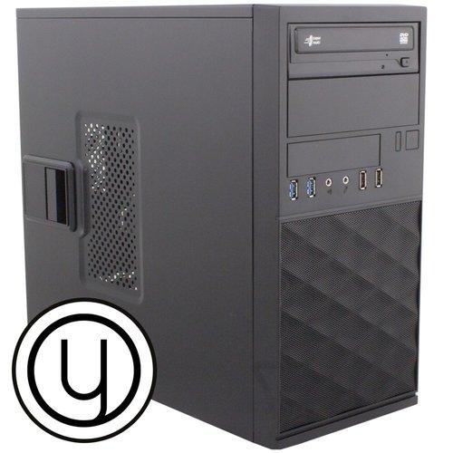 Yours! YOURS WHITE / mATX / Ryzen 3-3200G / 8GB / 1TB + 240GB / HDMI / W10