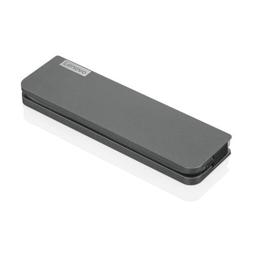 Lenovo USB-C Mini Docking Station Bedraad Grijs (refurbished)