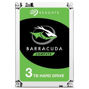 Seagate HDD  Barracuda 3TB / 3.5 inch / SATAIII / 7200RPM (refurbished)
