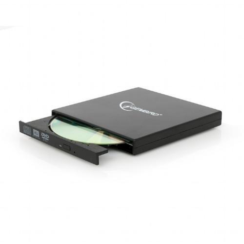 OEM Gembird DVD-USB-02 optisch schijfstation Zwart DVD±RW