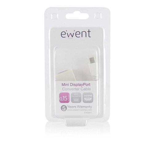 Ewent Converter Cable Mini DisplayPort male - HDMI-A female