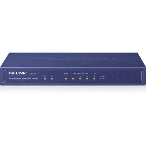 TP-Link TL-R470T+ 5 poorts Multi-WAN