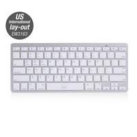 EW3163 Ultradun Bluetooth Keyboard - US lay-out (Qwerty)