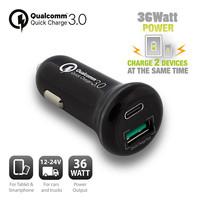 EW1356 USB Autolader 36W