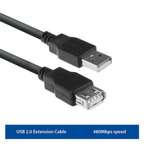Ewent EW9624 USB 2.0 verlengkabel