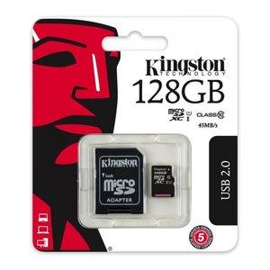 Kingston Kingston Micro SD 128 GB kaart