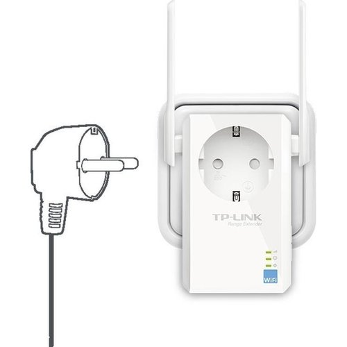 TP-Link TL-WA860RE Wireless Range Extender incl. stopcontact