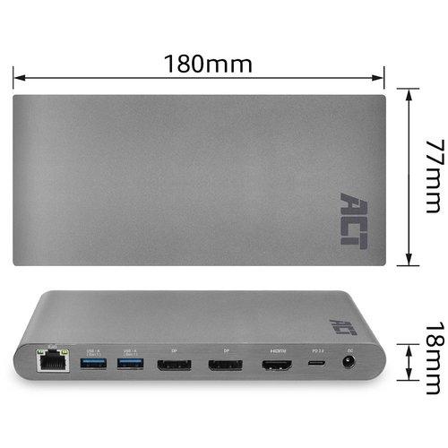 ACT AC7046 USB-C Docking station