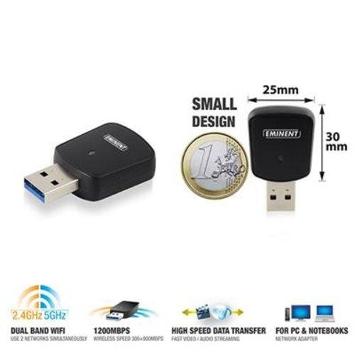 Eminent EM4536 Mini Wireless adapter AC1200