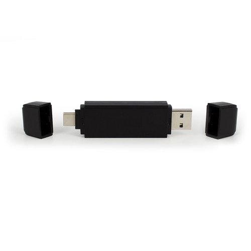 Ewent EW1075 Externe USB 3.1 Gen 1 SD microSD Kaartlezer