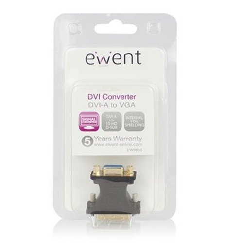 Ewent EW9850 Ewent DVI-A naar VGA verloopadapter