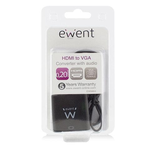 Ewent EW9864  HDMI naar VGA verloopadapter