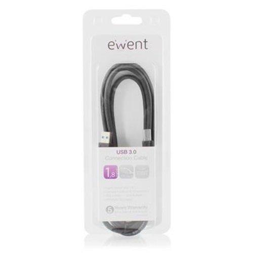 Ewent EW9623 USB 3.0 aansluitkabel 1,8 meter