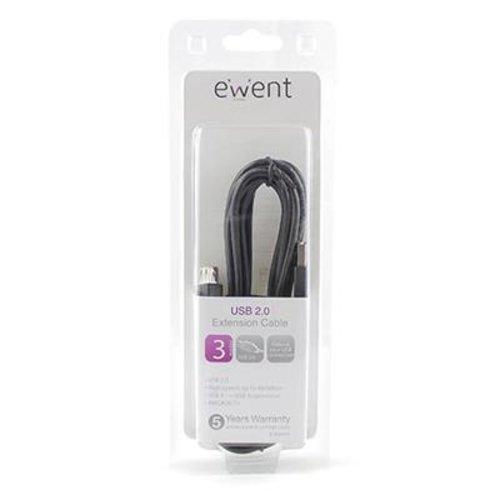 Ewent EW9622 USB 2.0 verlengkabel