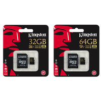 Kingston 4K Micro SD 32GB kaart - 4K ultra HD U3