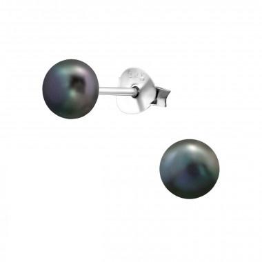 Freshwater pearl earstuds 5mm-2