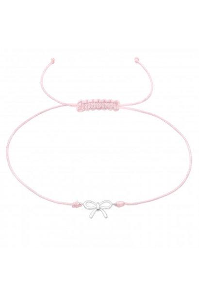 Adjustable bracelet bow