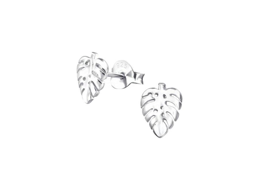 Ear studs leaf