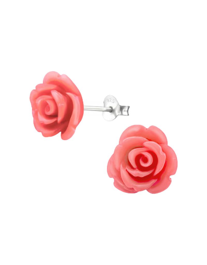 Ear stud rose-1