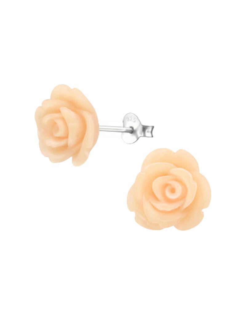 Ear stud rose-2