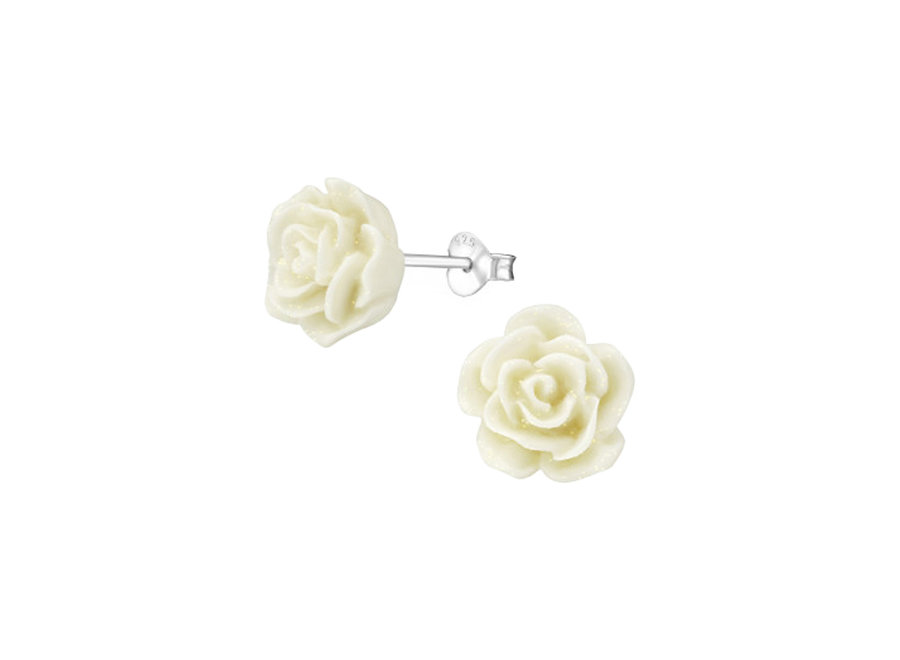 Ear stud rose