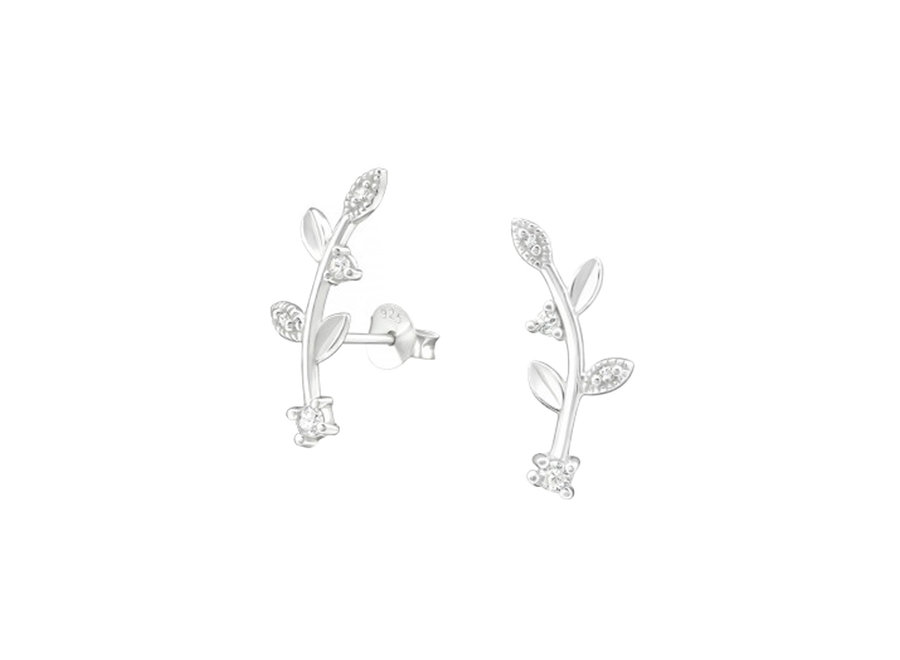 Cuff ear studs branch