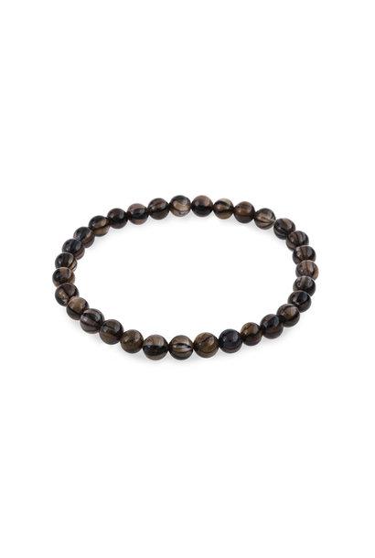 Schelp armband blackline brown