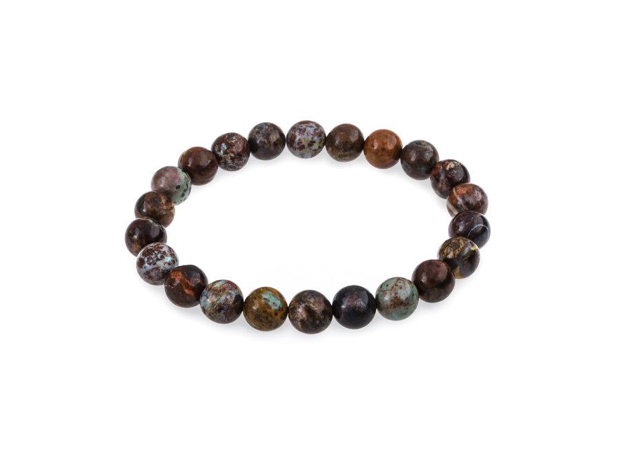 Gemstone bracelet African opal