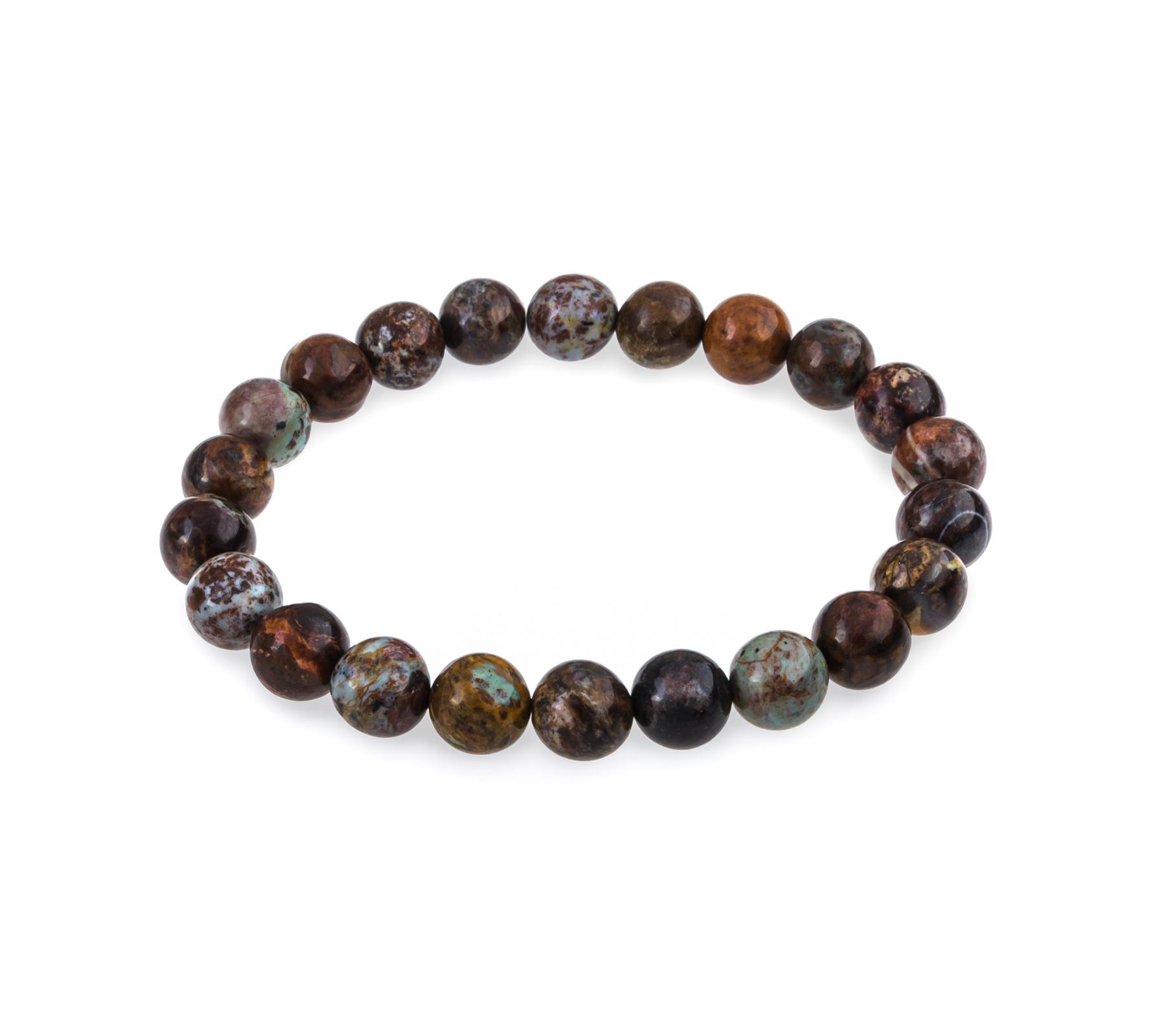Gemstone bracelet African opal-1