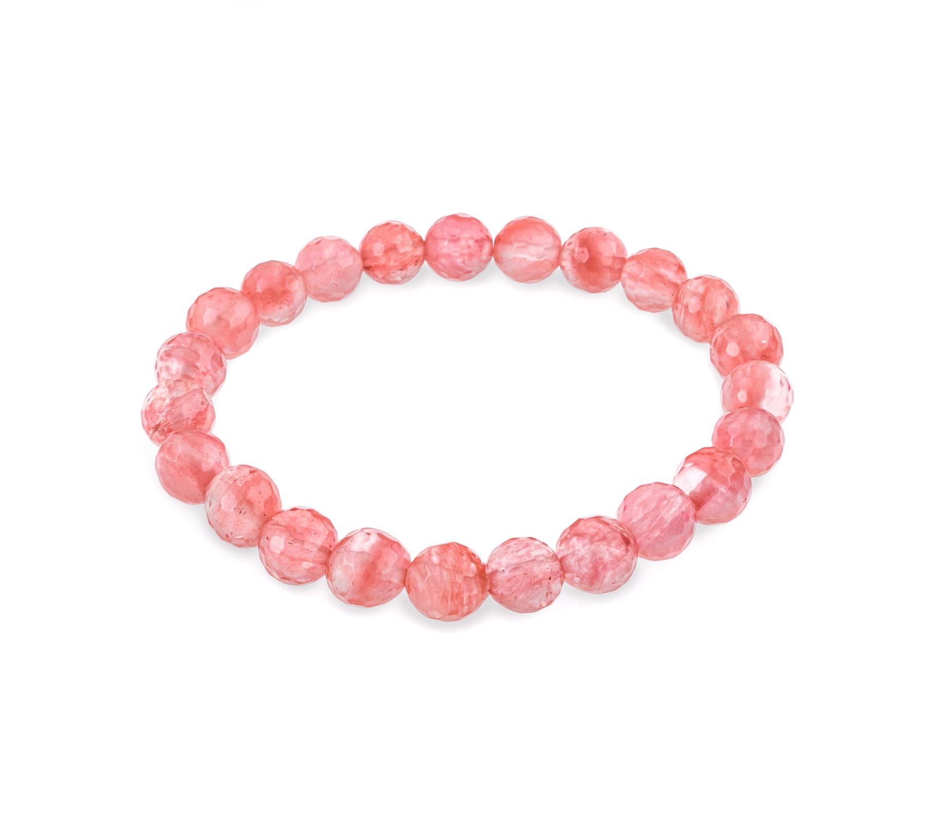 Edelsteen armband cherry kwarts-1