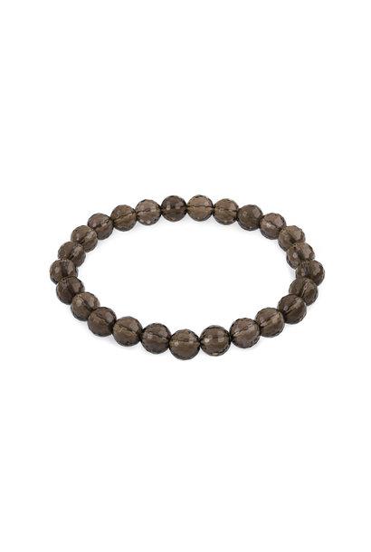 Gemstone bracelet smoky quartz