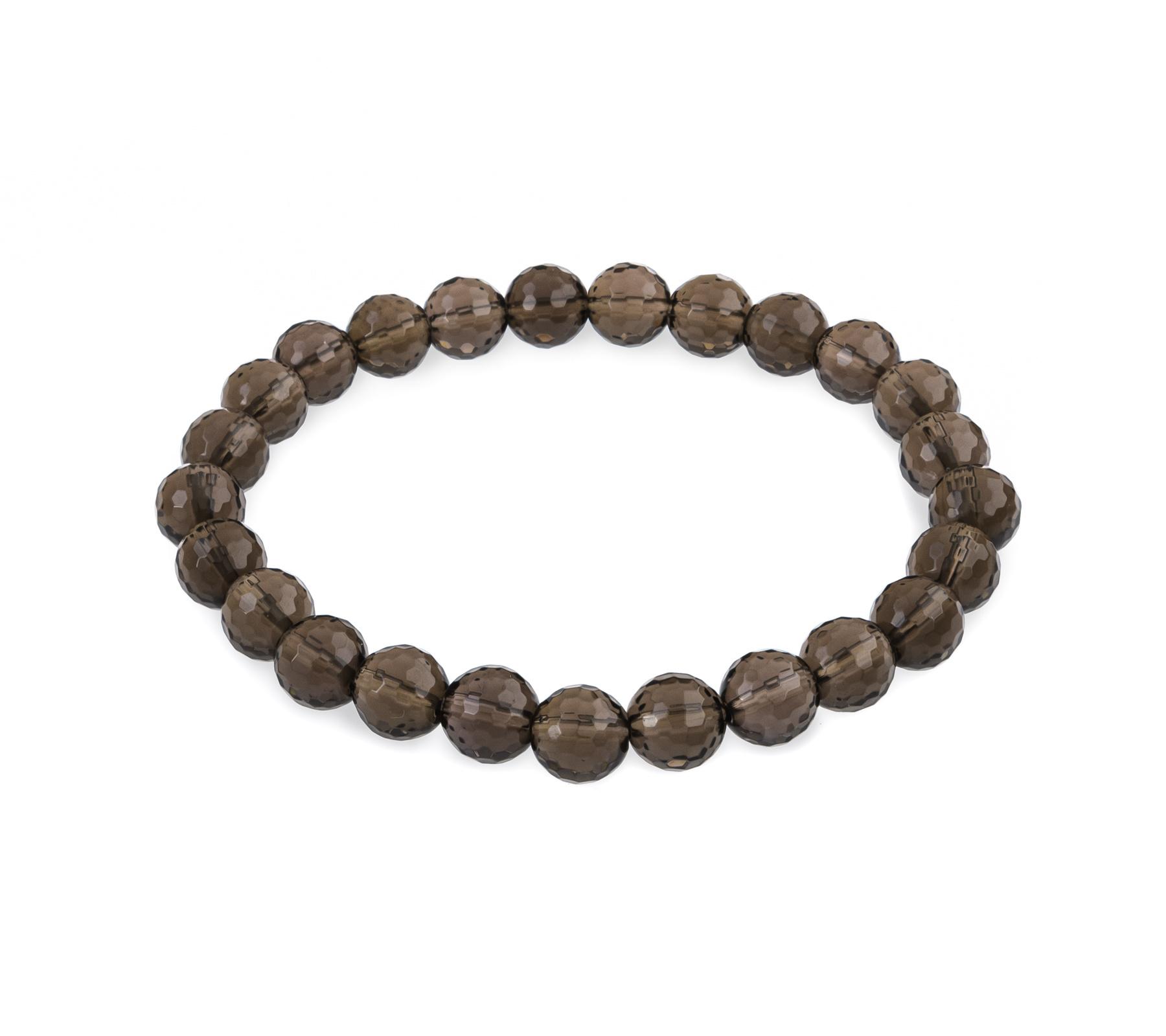 Gemstone bracelet smoky quartz-1