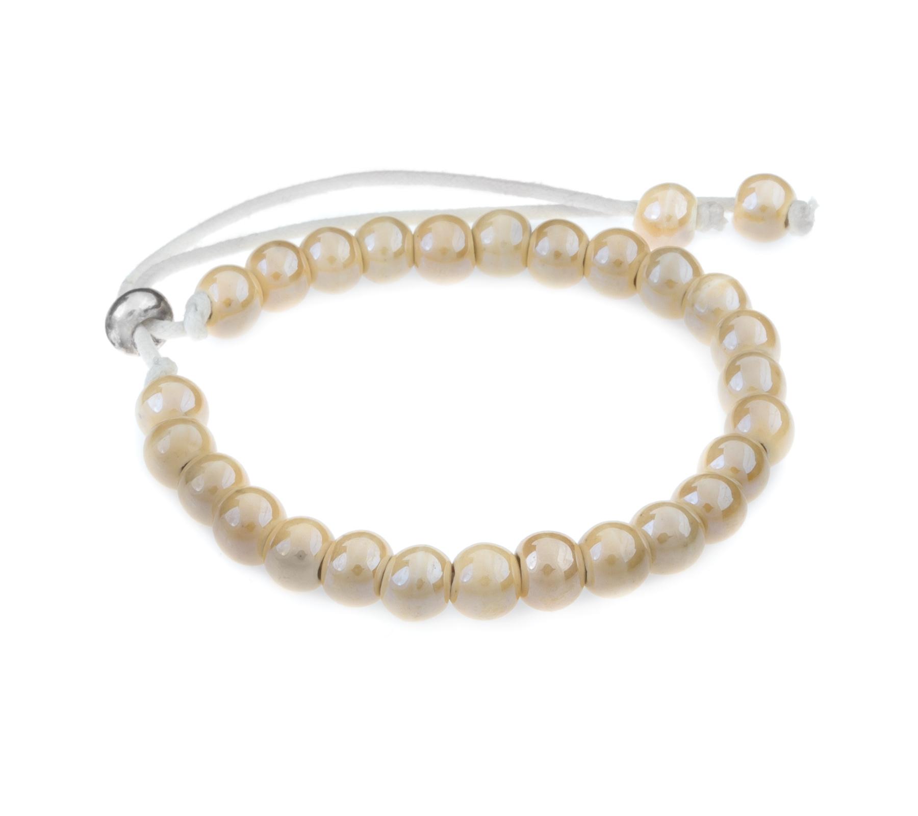 Ceramic bracelet cream-1