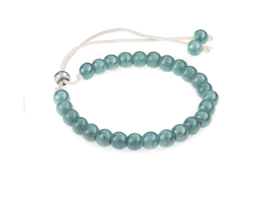 Ceramic bracelet turqouise
