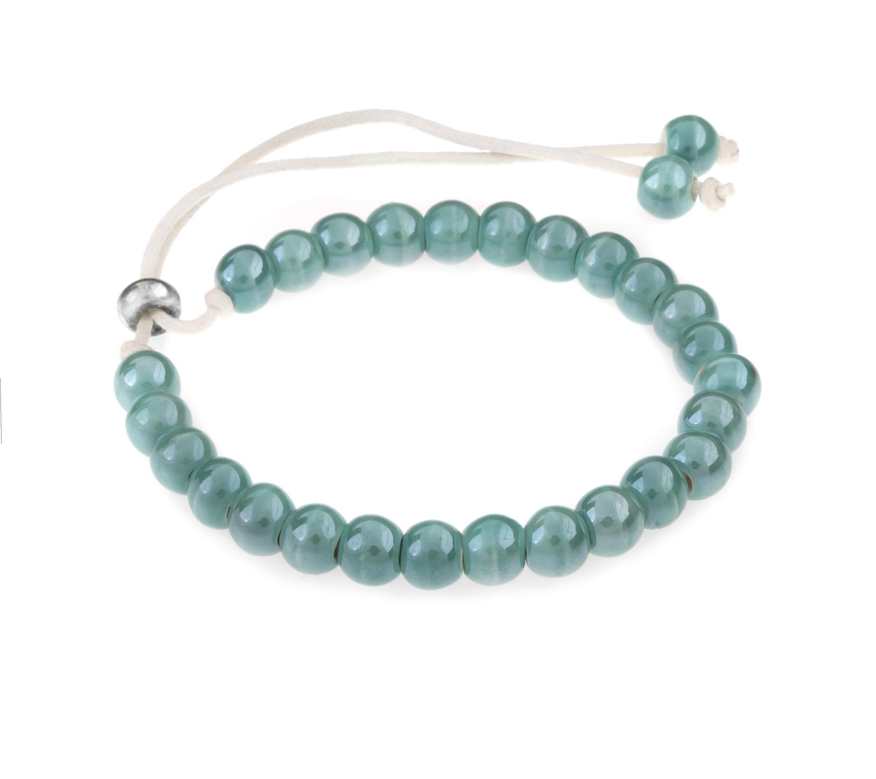 Keramiek armband turquoise-1